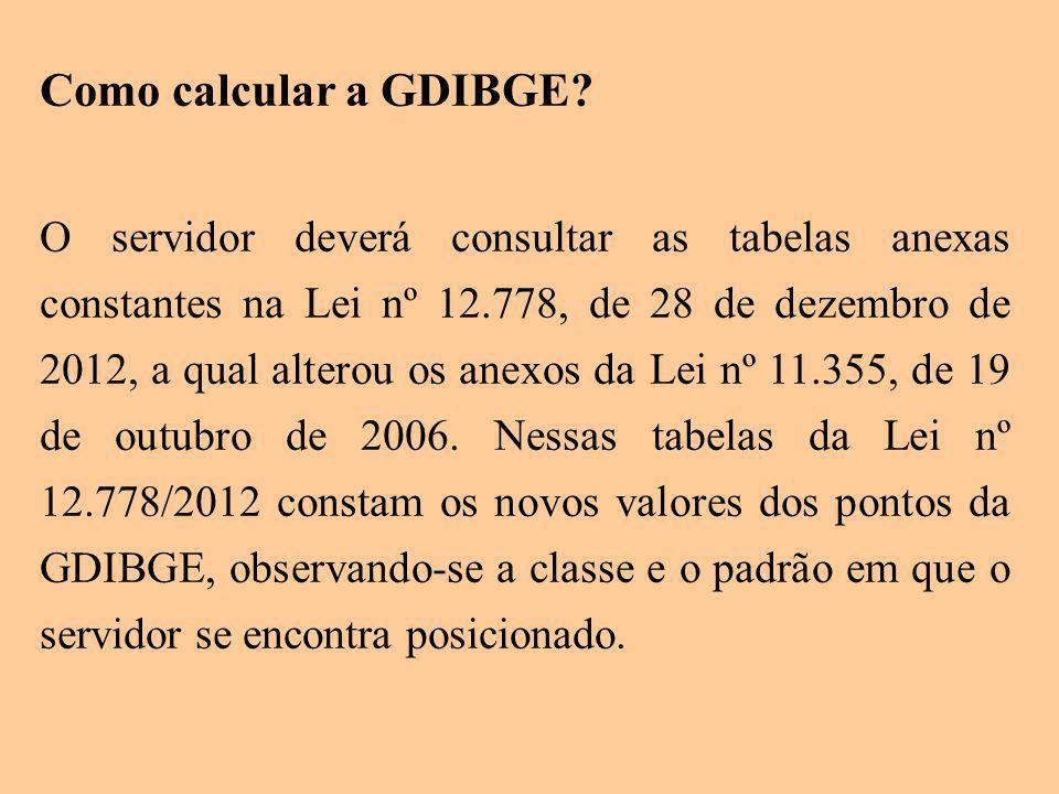 Como calcular a GDIBGE