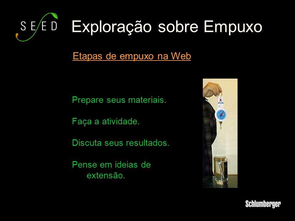 Exploração sobre Empuxo