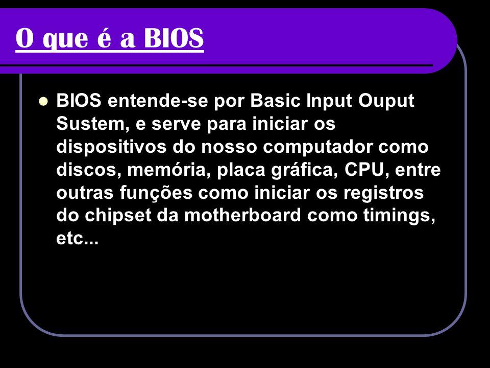 O que é a BIOS