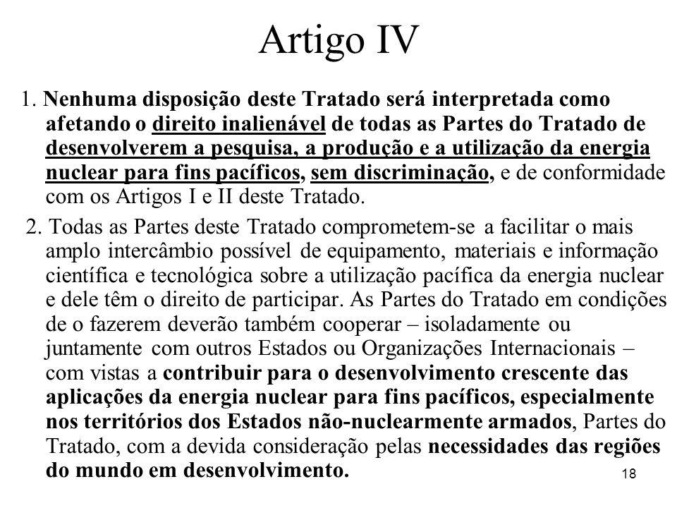 Artigo IV