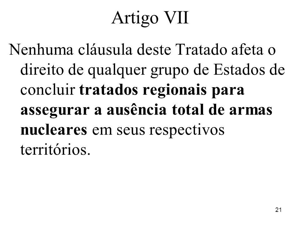 Artigo VII