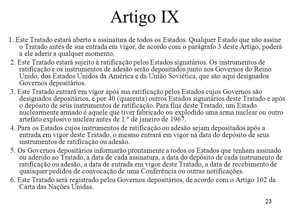 Artigo IX