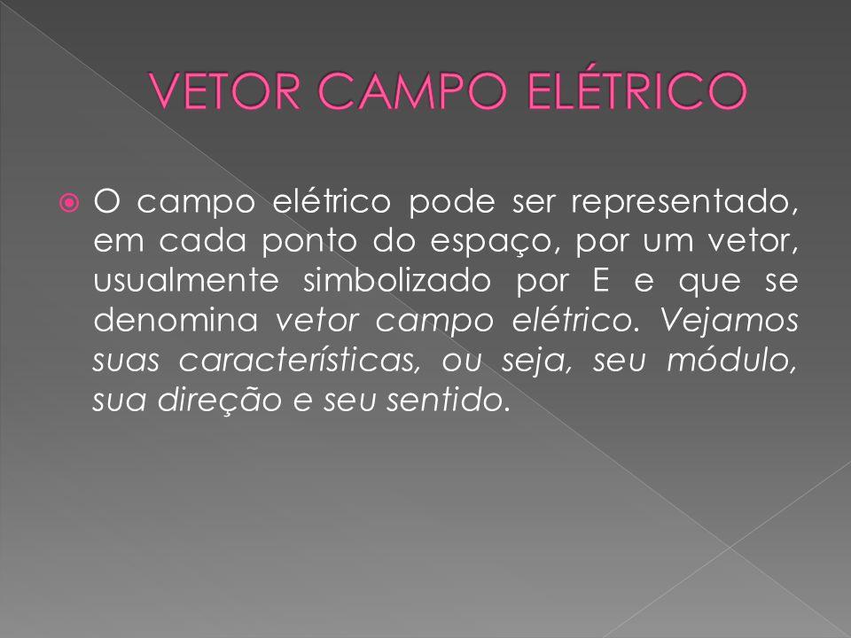 VETOR CAMPO ELÉTRICO