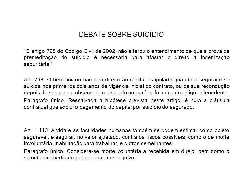DEBATE SOBRE SUICÍDIO