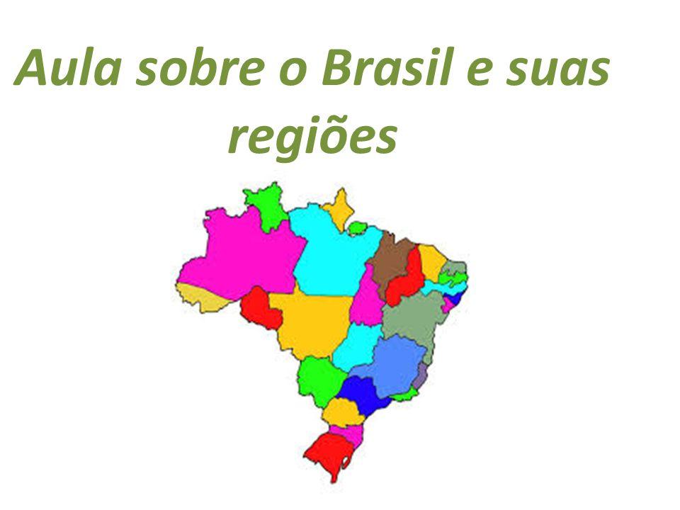 Aula sobre o Brasil e suas regiões