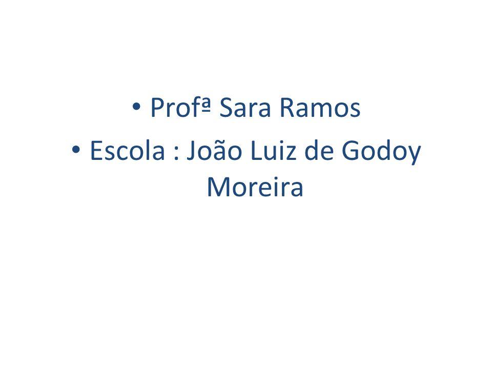 Escola : João Luiz de Godoy Moreira