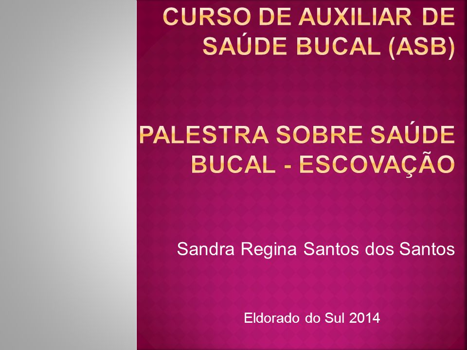 Sandra Regina Santos dos Santos
