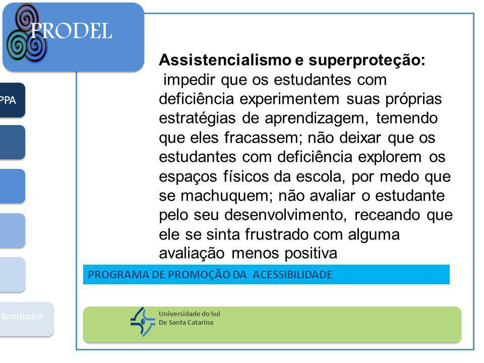 PRODEL Assistencialismo e superproteção: