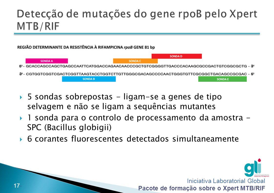 Detecção de mutações do gene rpoB pelo Xpert MTB/RIF