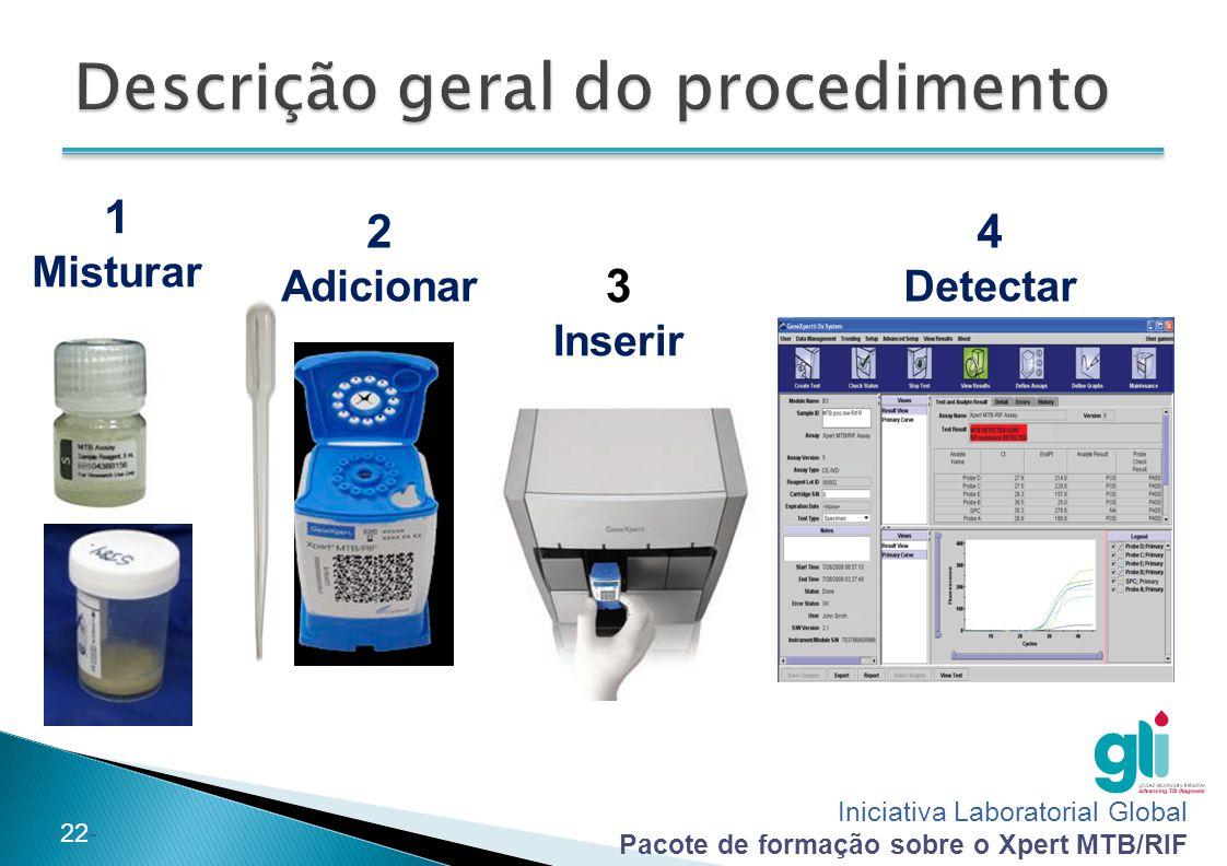 Descrição geral do procedimento