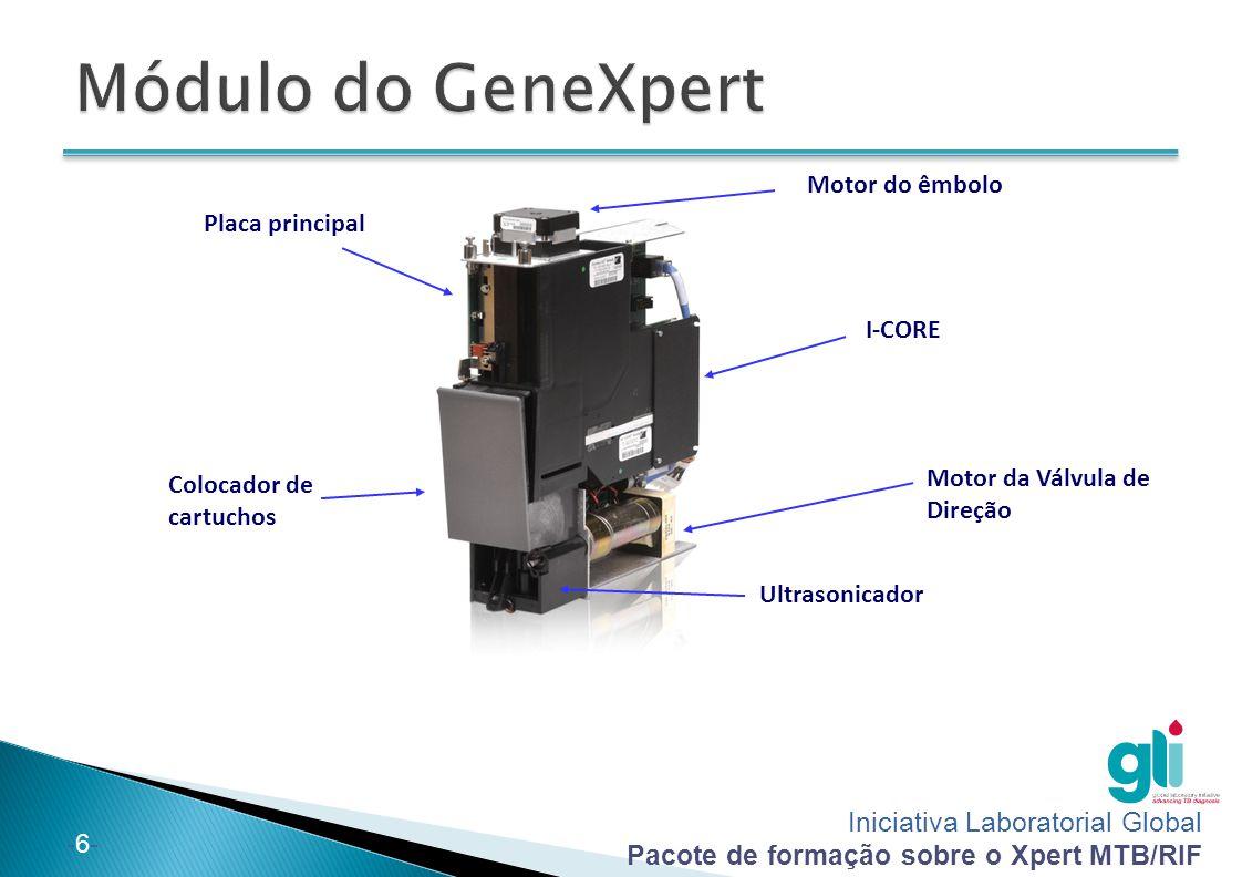 Módulo do GeneXpert Motor do êmbolo Placa principal I-CORE
