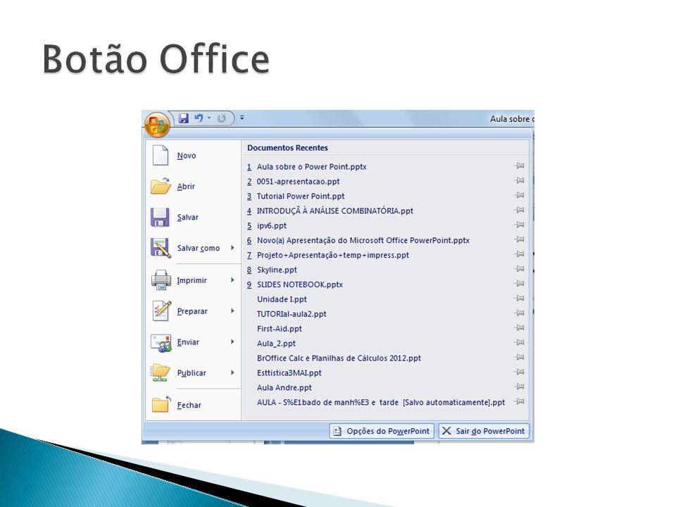 Botão Office