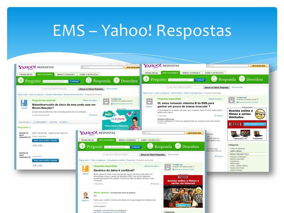 EMS – Yahoo! Respostas