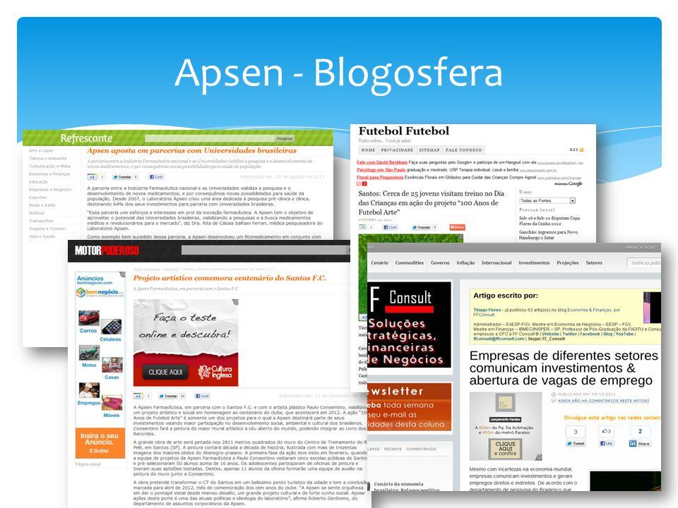 Apsen - Blogosfera