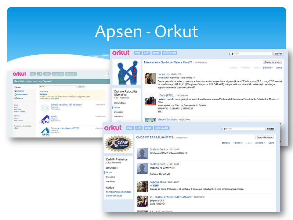 Apsen - Orkut