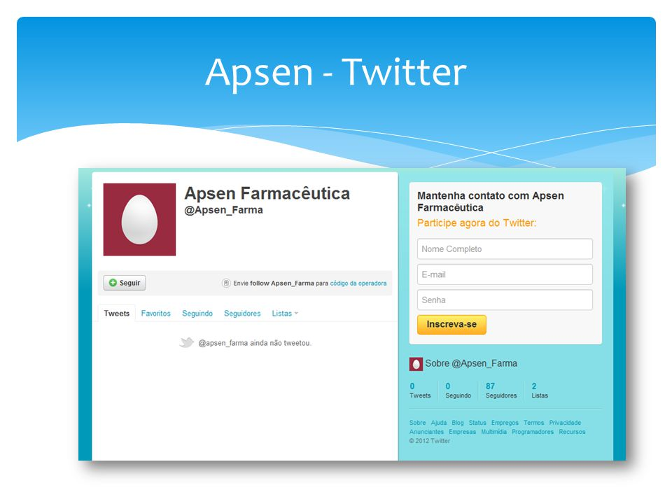 Apsen - Twitter