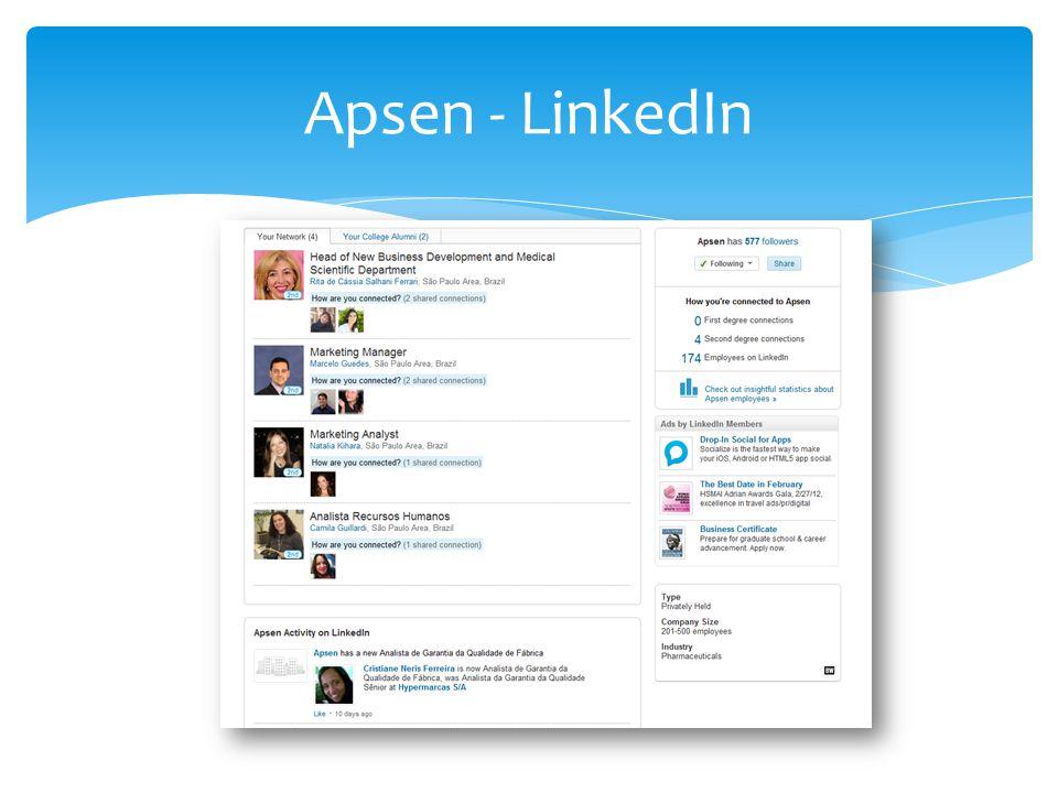 Apsen - LinkedIn