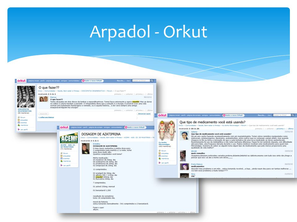 Arpadol - Orkut