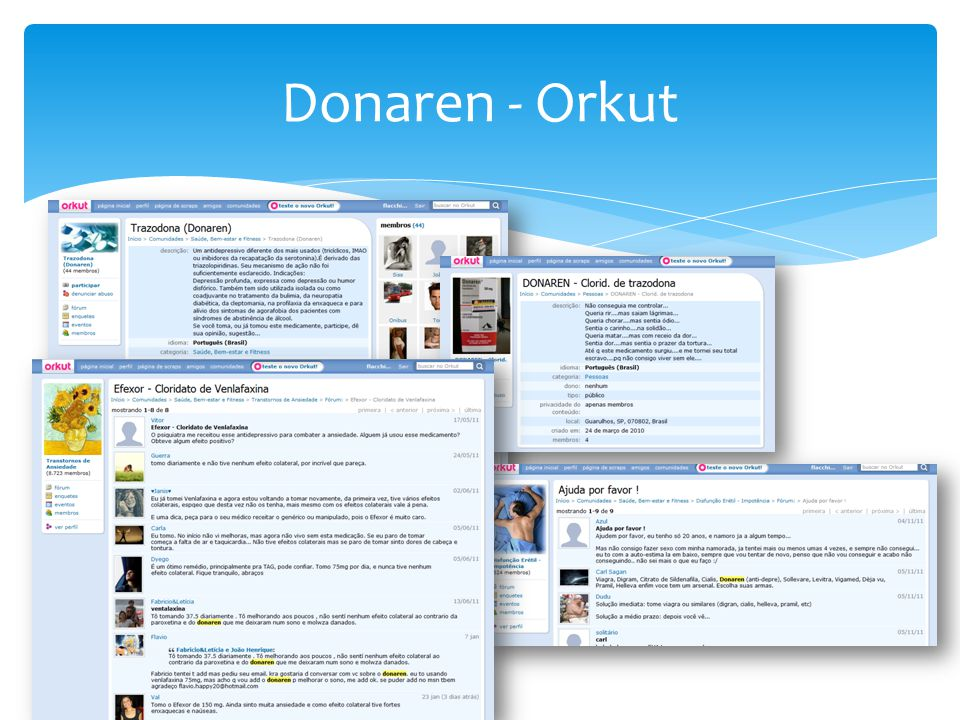 Donaren - Orkut
