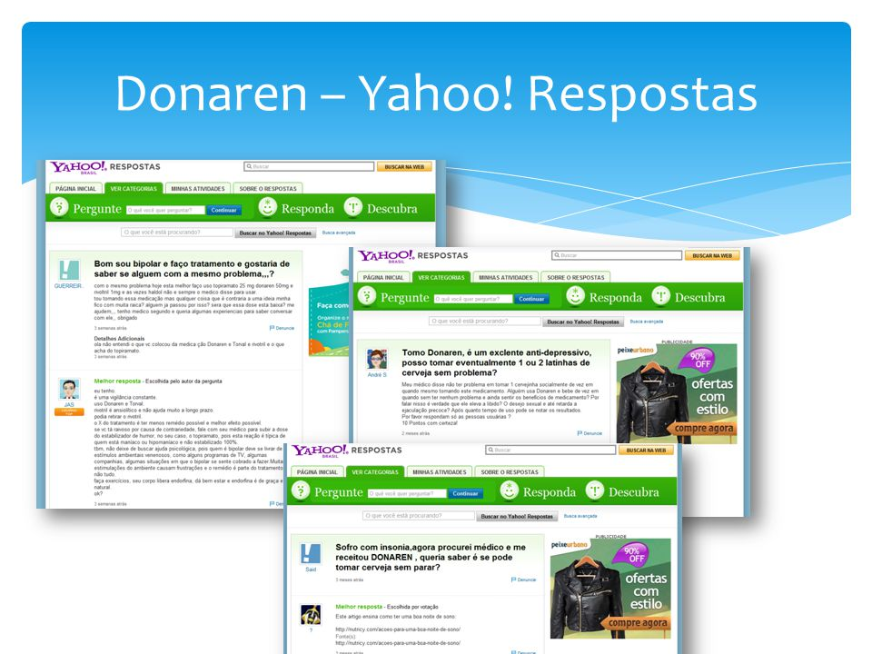 Donaren – Yahoo! Respostas