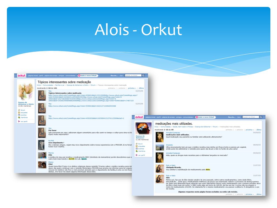 Alois - Orkut