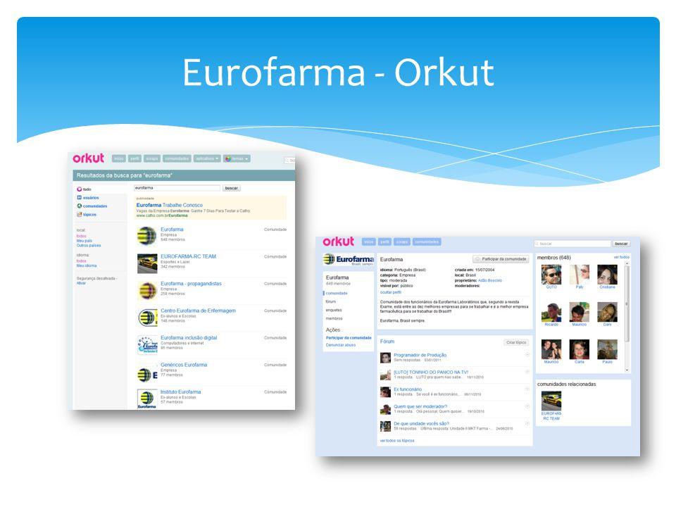 Eurofarma - Orkut