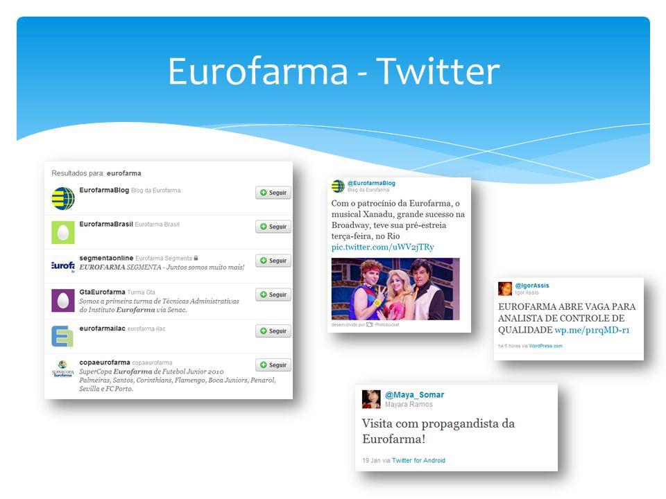 Eurofarma - Twitter