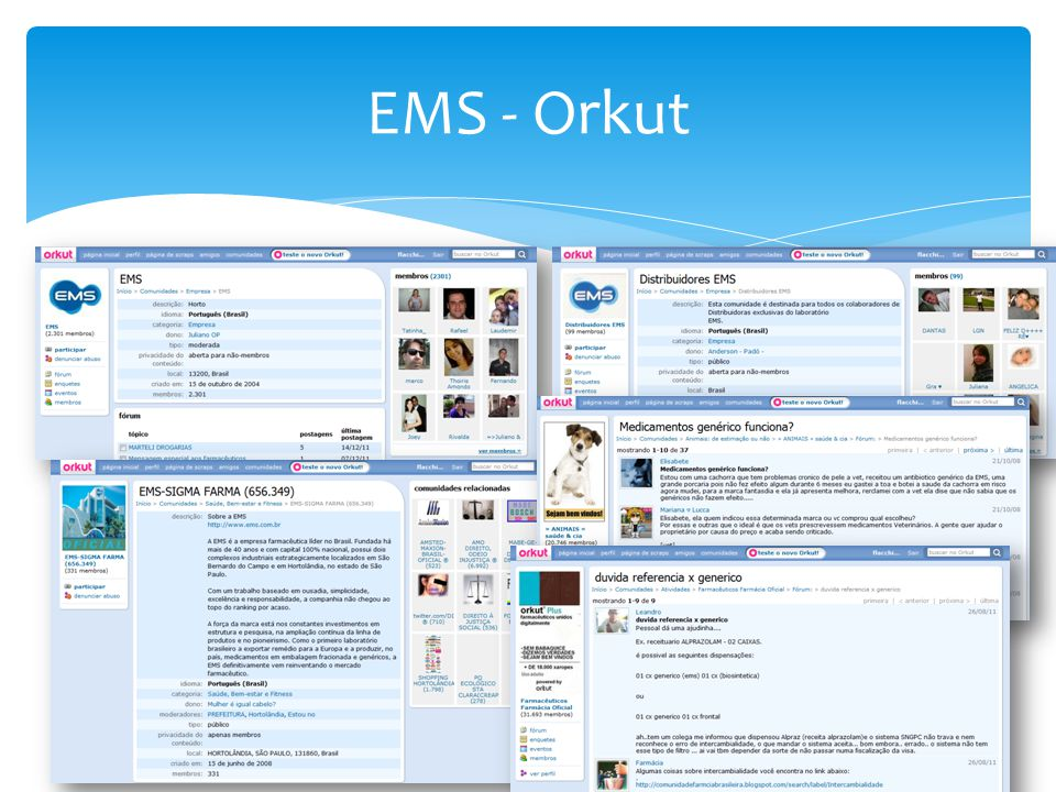EMS - Orkut