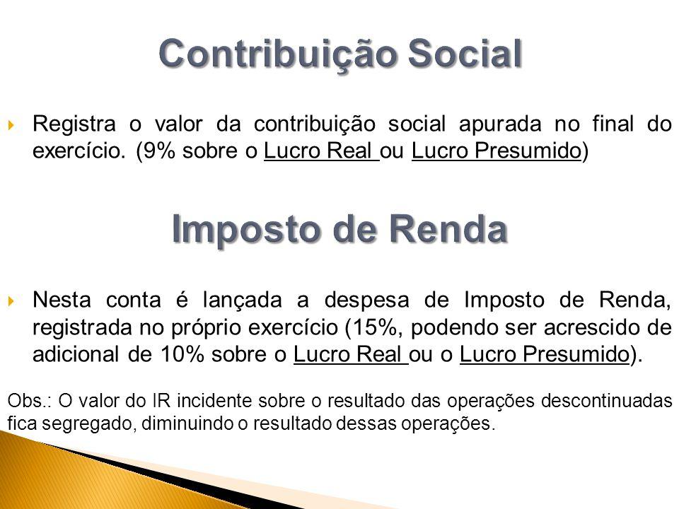 Contribuição Social Imposto de Renda