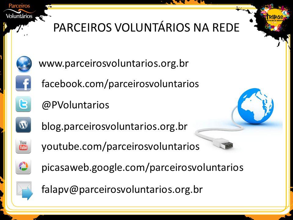 PARCEIROS VOLUNTÁRIOS NA REDE