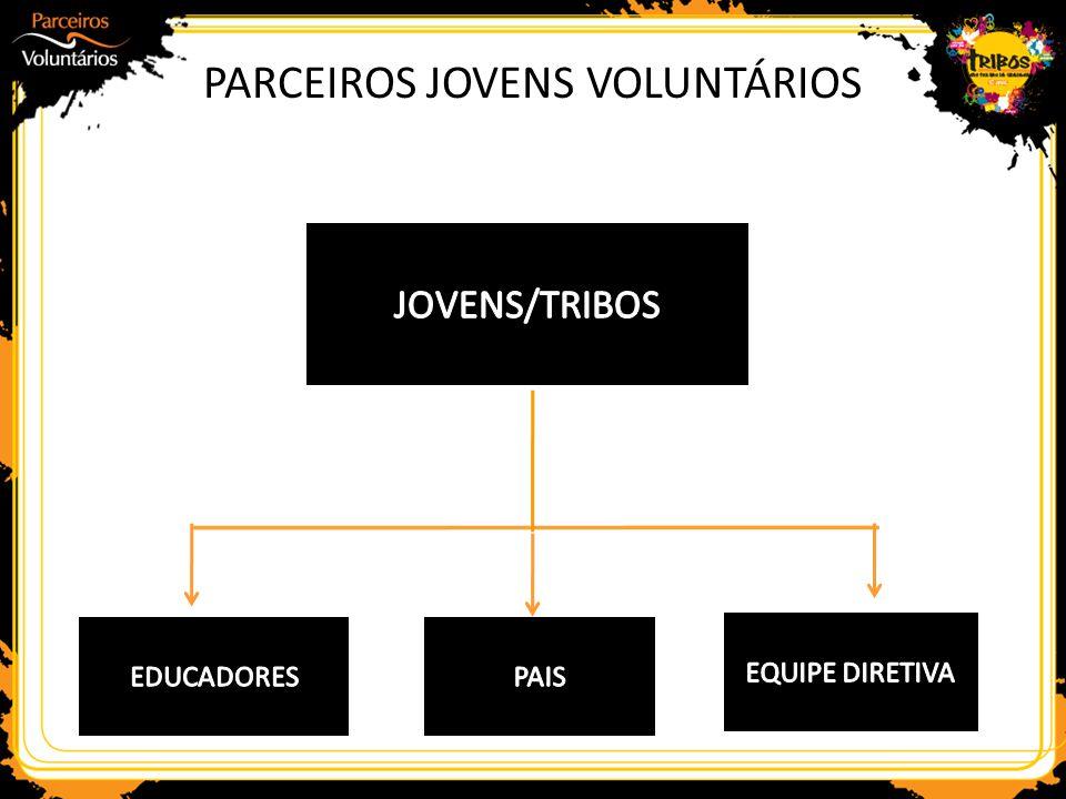 PARCEIROS JOVENS VOLUNTÁRIOS