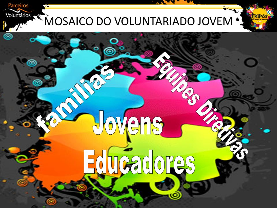 MOSAICO DO VOLUNTARIADO JOVEM