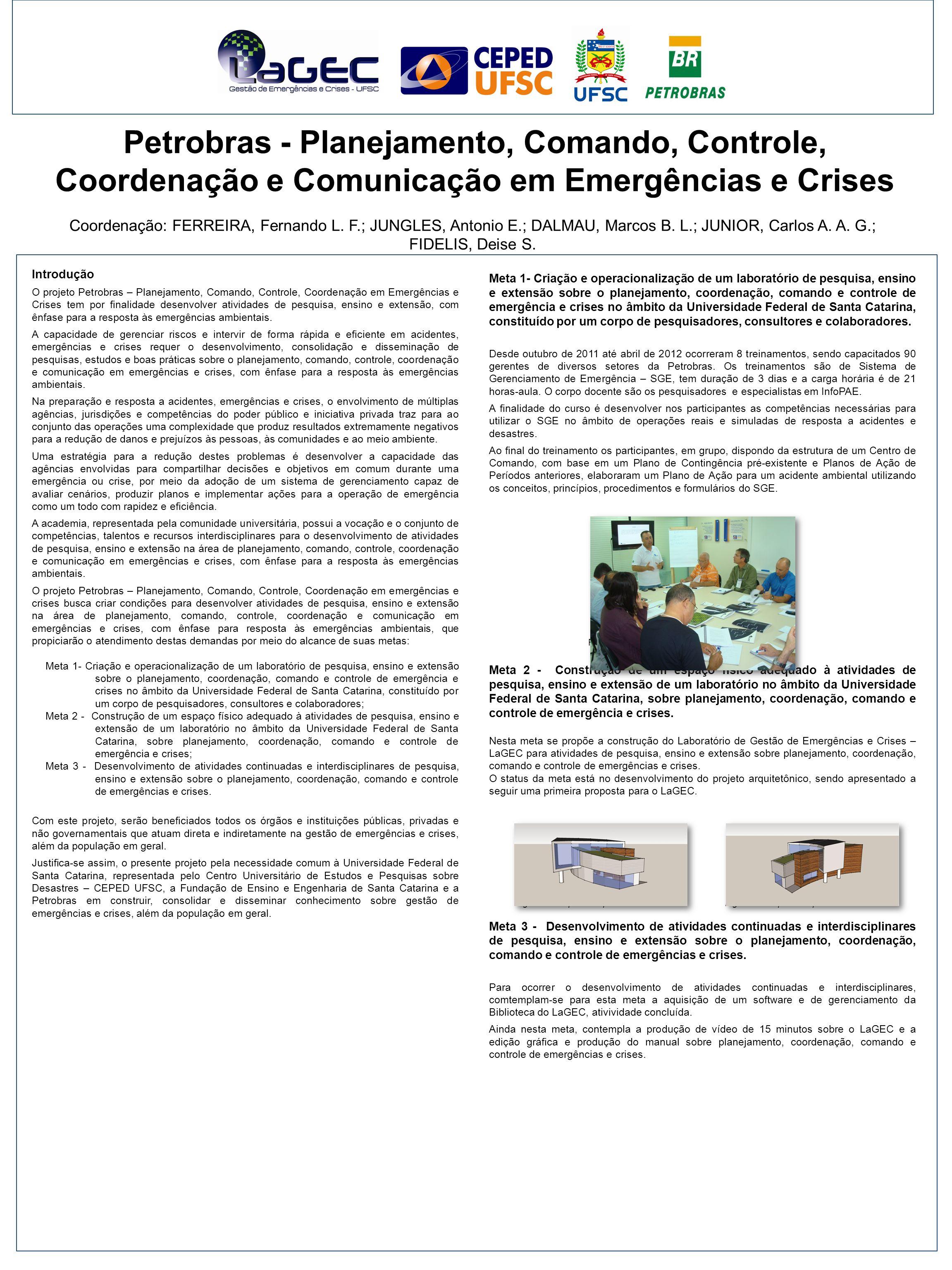 Petrobras - Planejamento, Comando, Controle, Coordenação e Comunicação em Emergências e Crises