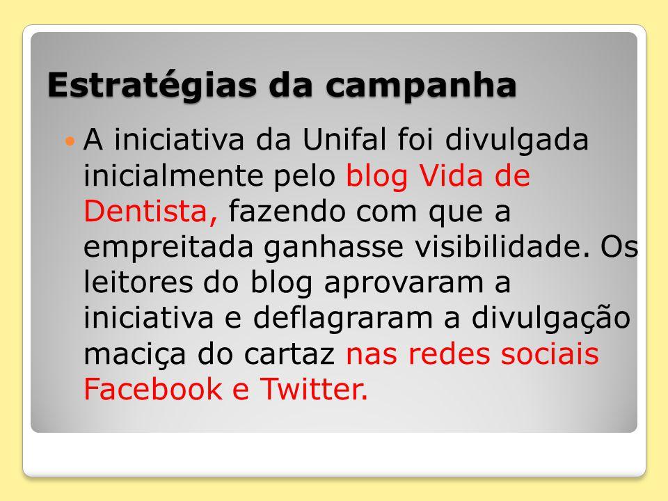 Estratégias da campanha