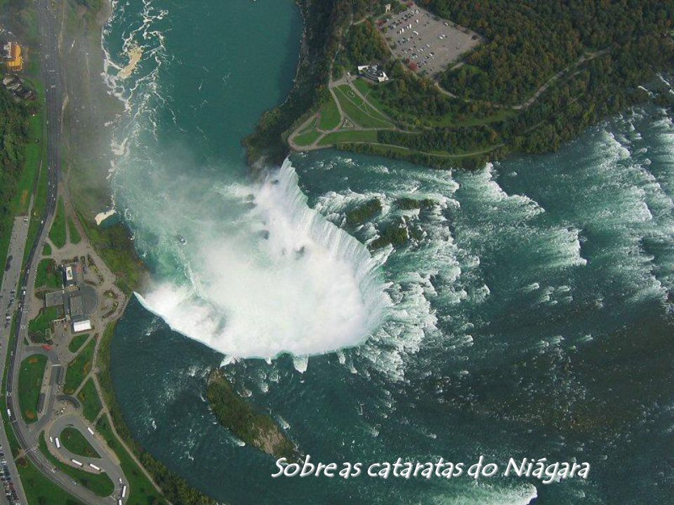 Sobre as cataratas do Niágara
