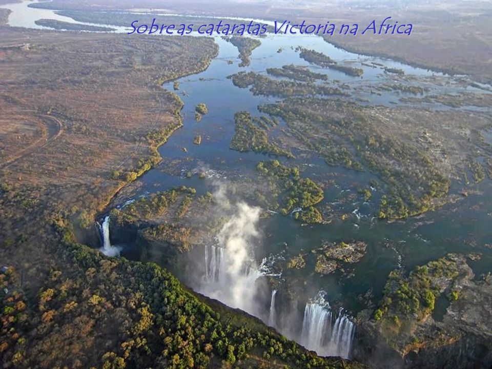 Sobre as cataratas Victoria na Africa
