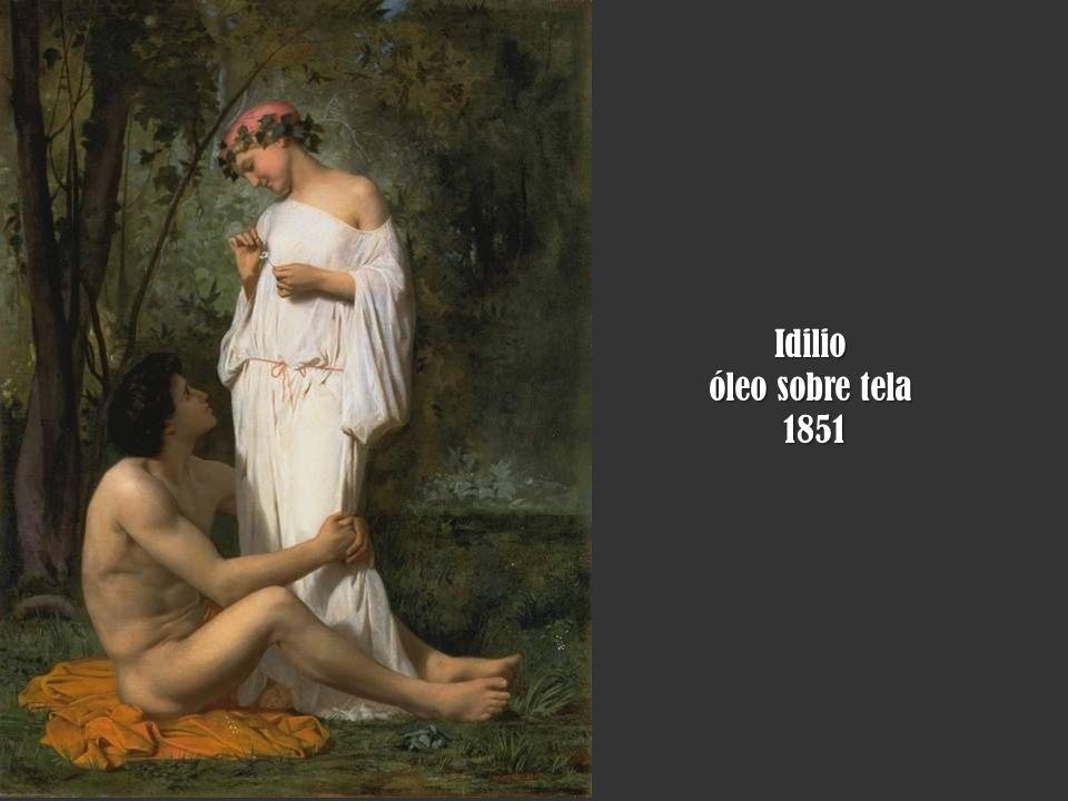 Idilio óleo sobre tela 1851