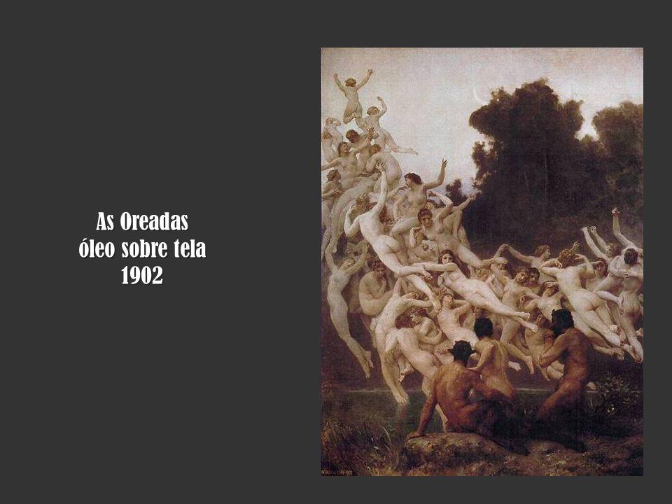 As Oreadas óleo sobre tela 1902