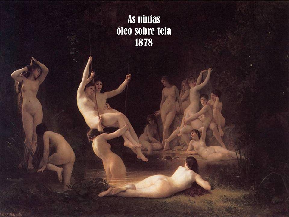 As ninfas óleo sobre tela 1878