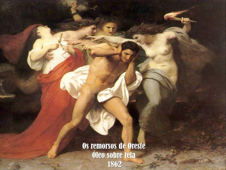 Os remorsos de Oreste Óleo sobre tela 1862