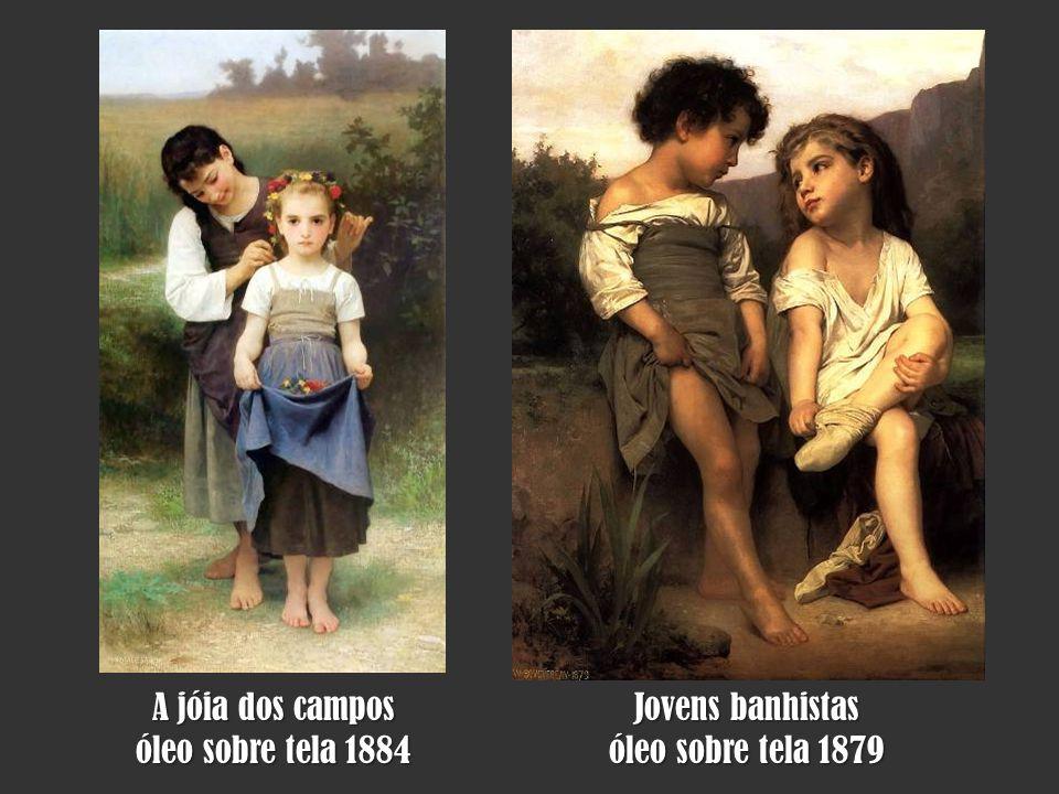 A jóia dos campos óleo sobre tela 1884 Jovens banhistas óleo sobre tela 1879