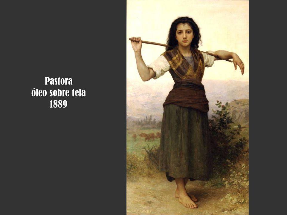 Pastora óleo sobre tela 1889