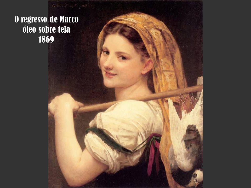 O regresso de Março óleo sobre tela 1869