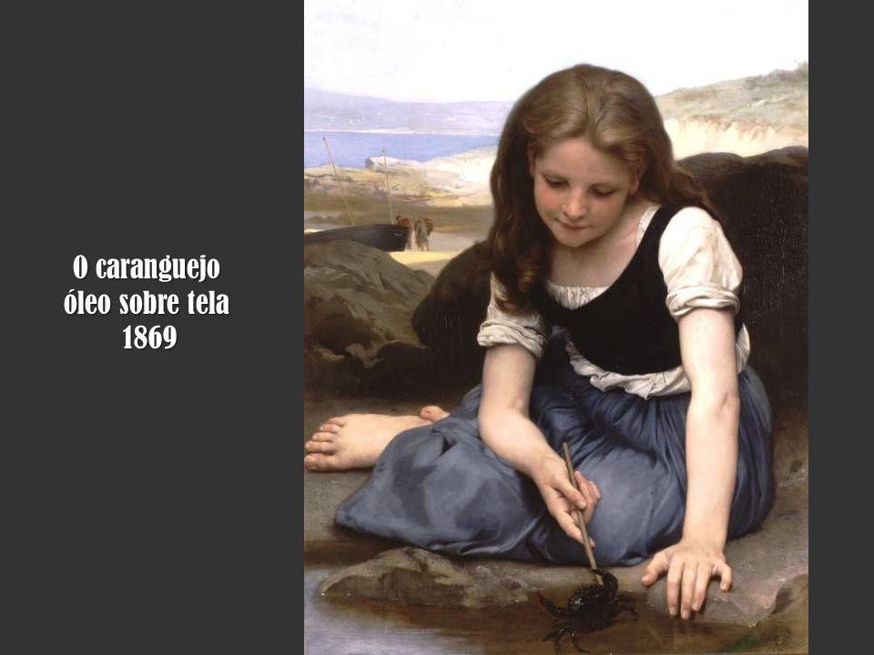 O caranguejo óleo sobre tela 1869