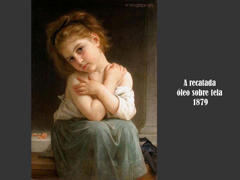 A recatada óleo sobre tela 1879