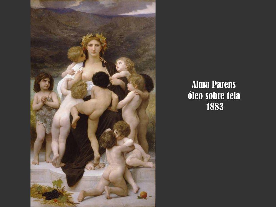 Alma Parens óleo sobre tela 1883