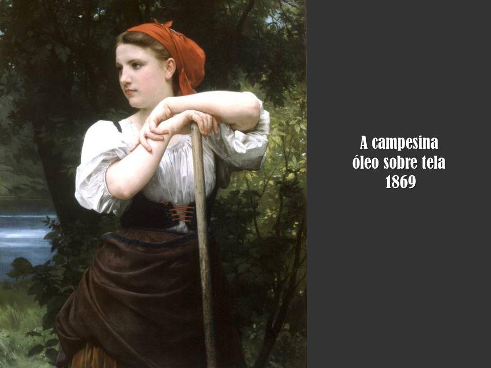 A campesina óleo sobre tela 1869
