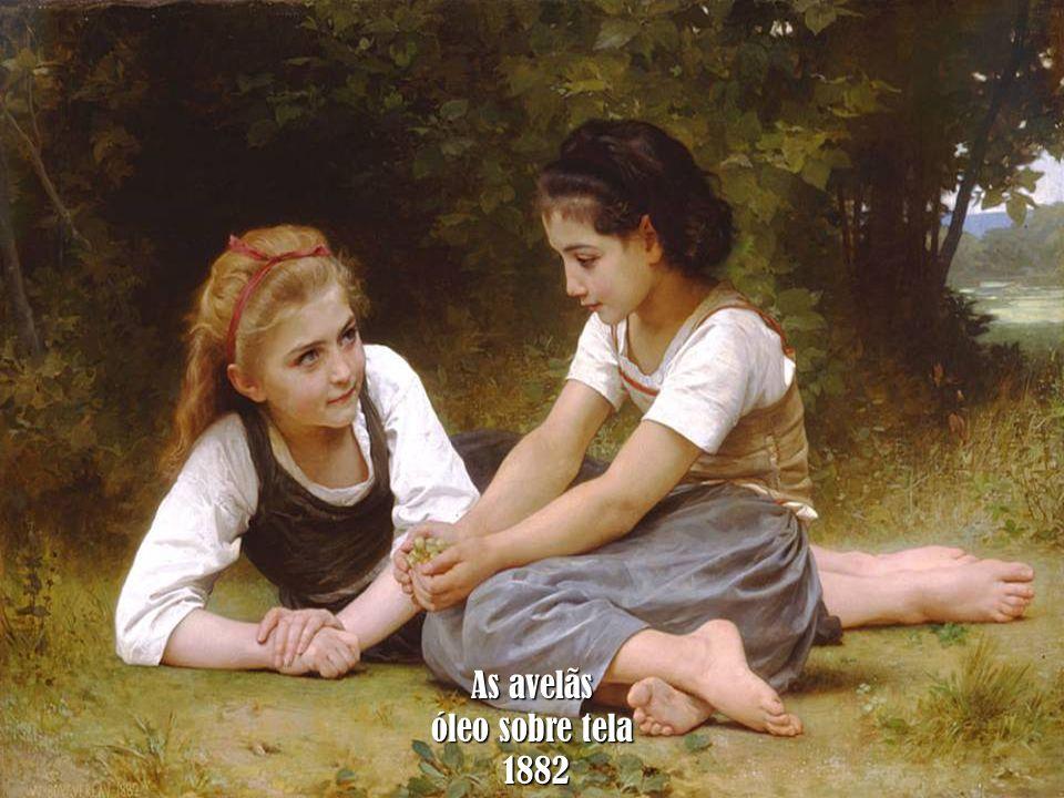 As avelãs óleo sobre tela 1882