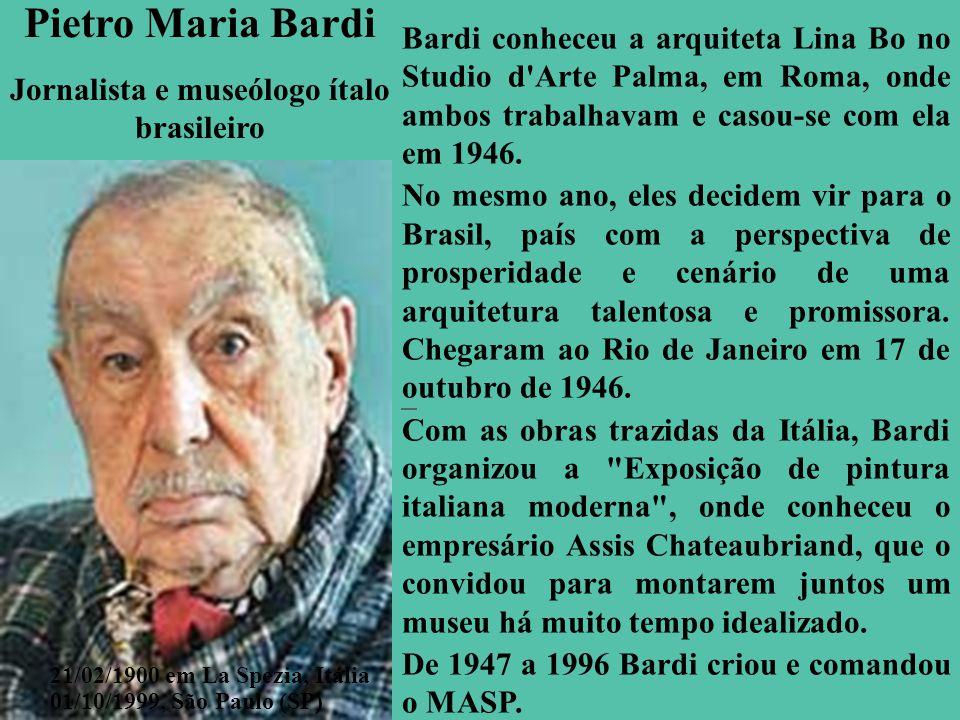 Jornalista e museólogo ítalo brasileiro
