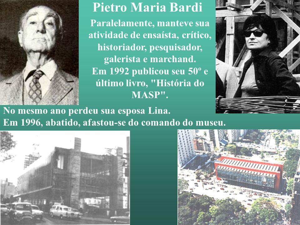 Em 1992 publicou seu 50º e último livro, História do MASP .